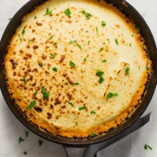 Mashed Cauliflower Shepherd's Pie.