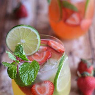 Mango Strawberry Sangria.