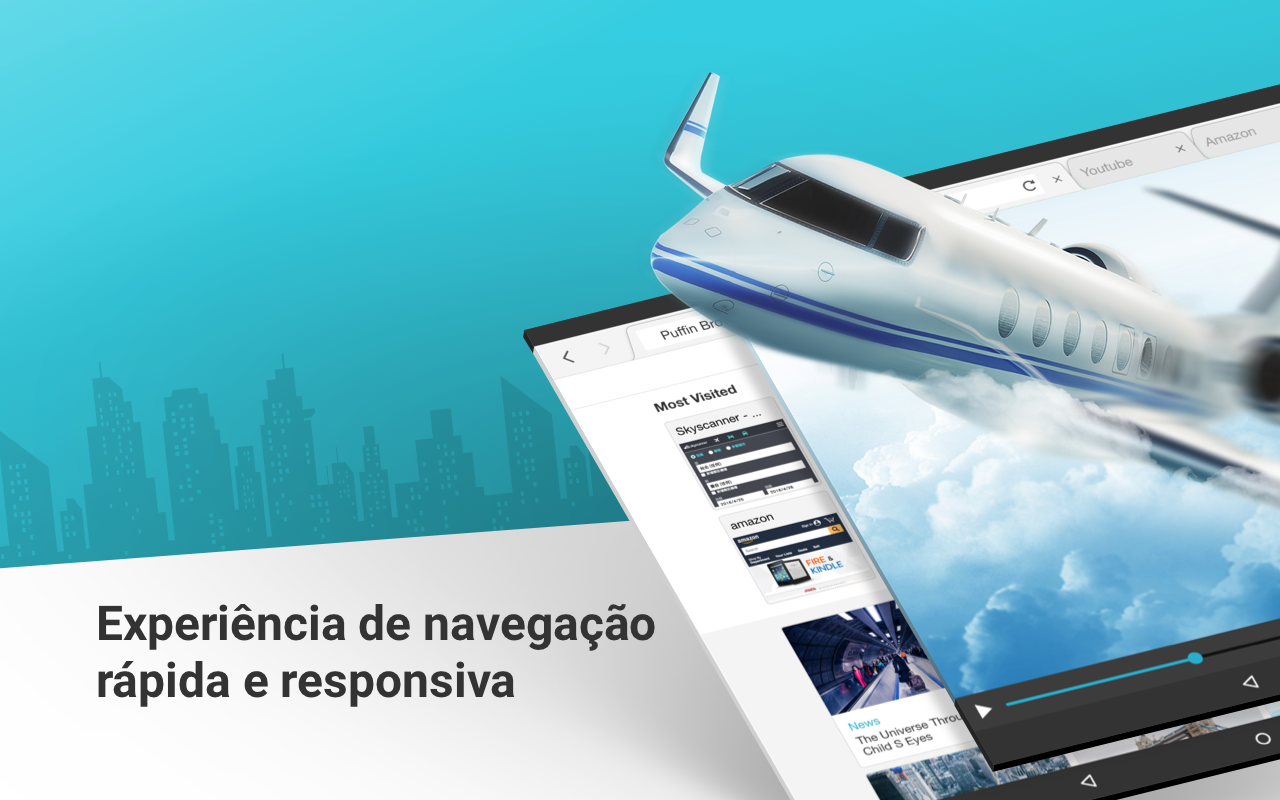 Puffin Web Browser: captura de tela