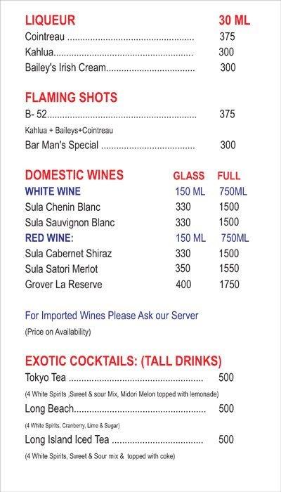 Chef's Bank menu 11
