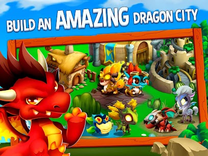 Dragon City MOD APK v9.7 (Unlimited Money,Coins & Food) 8