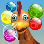 Bubble Shooter Chicka Rescue