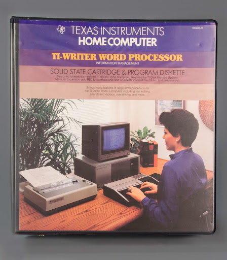 Instructions:TI-99/4A TI-Writer Word Processor