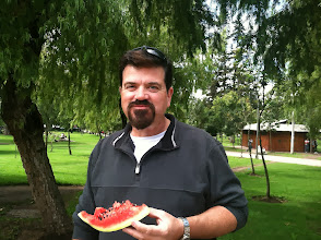 Photo: Brian really doesn't like seedless watermelons. Seems neither do Ecuadorians. Heaven.
