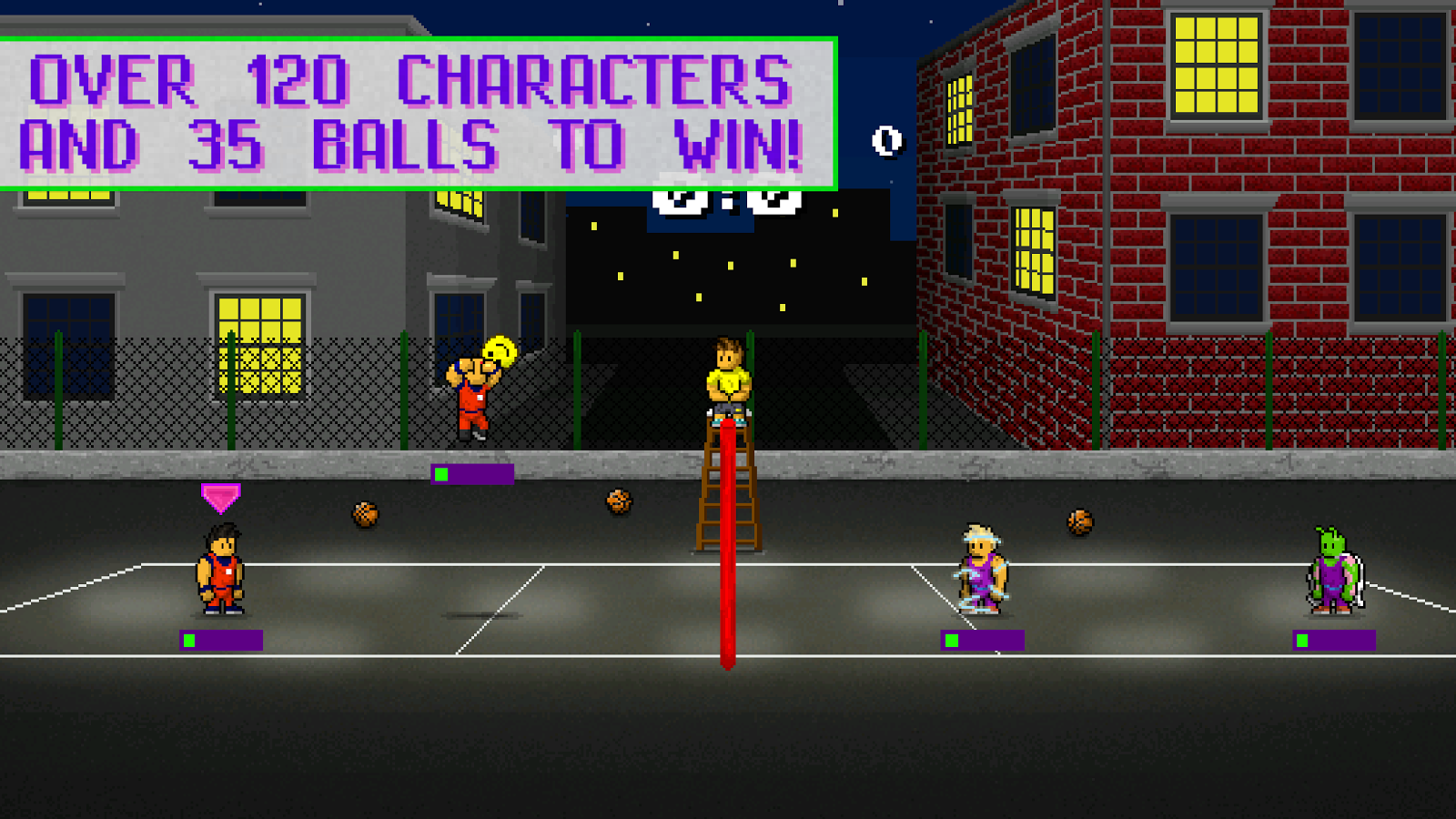 Extreme Beach Volley- screenshot