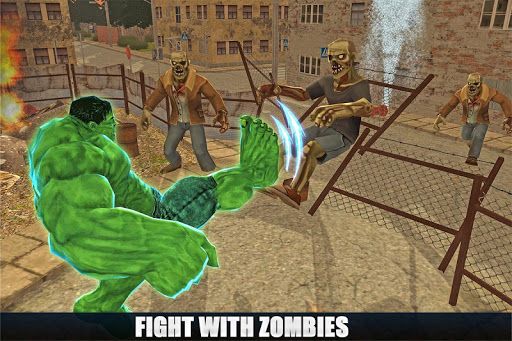 Incredible Monster vs Zombies