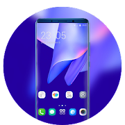 Theme for Elephone A4 Pro colorful wallpaper icon
