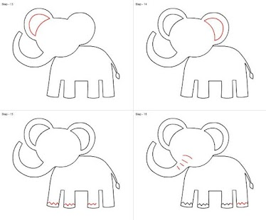 step by step drawing - HD1024×845