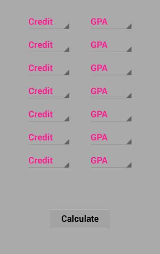 Simple GPA Calculator