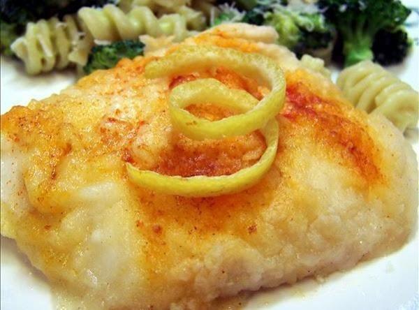 Lemon Baked Cod Recipe