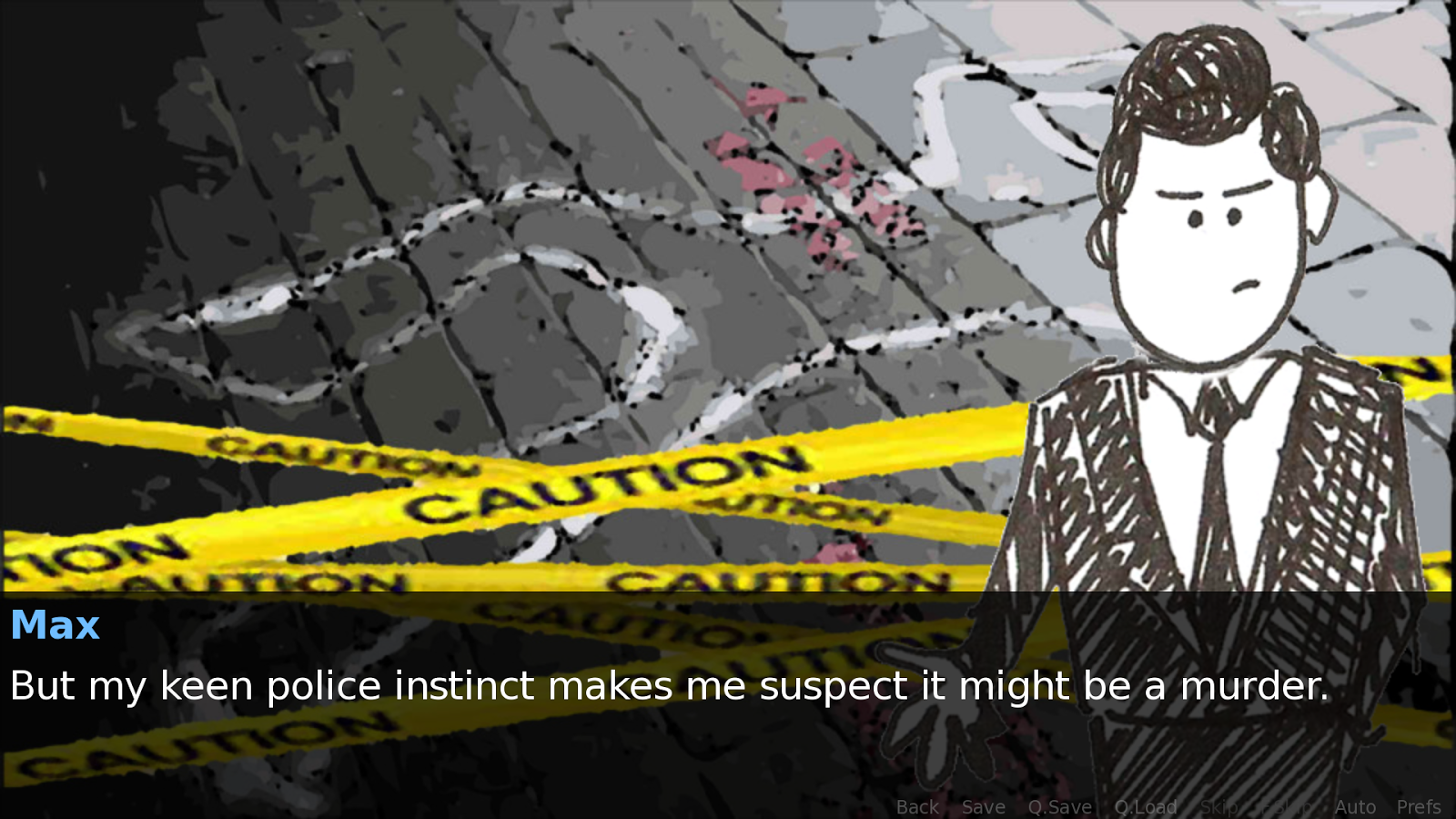 Detective Max!- screenshot