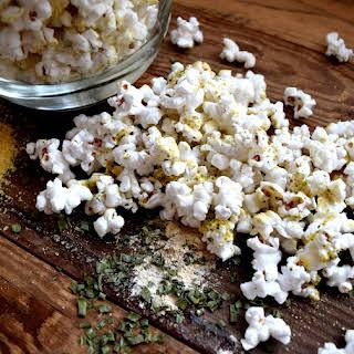 Doritos Cool Ranch Flavoured Popcorn.