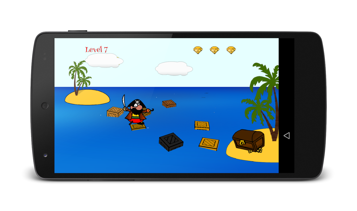 Pawpaw the Pirate - free!- screenshot