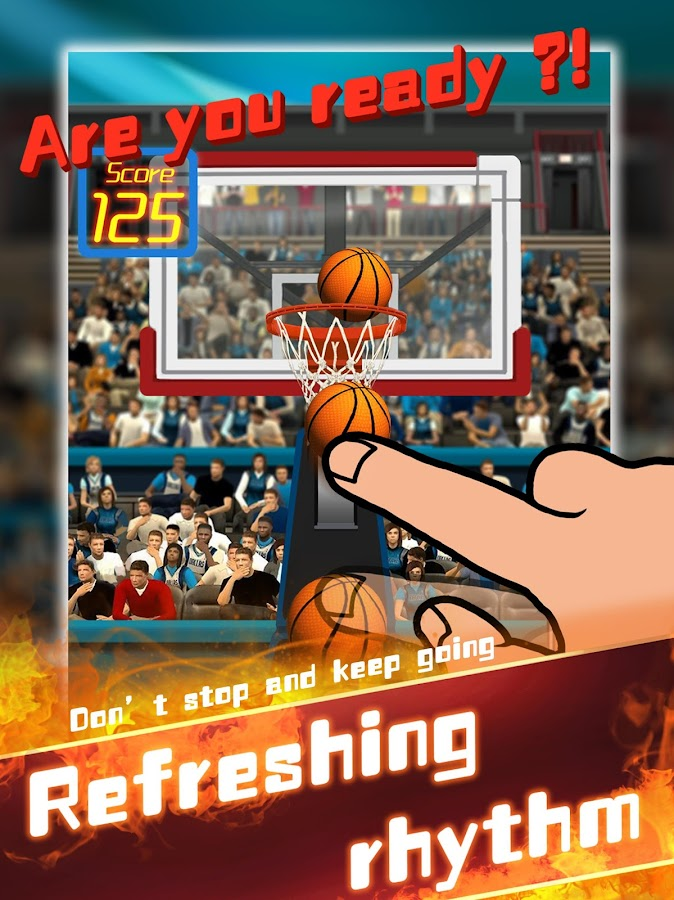 Speed Basketball- screenshot