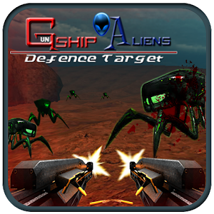 Gunship Aliens Defense Target for PC and MAC