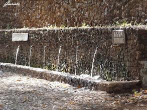 Photo: Alajar fuente en la peña
