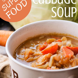 Katie's Simple Cabbage Soup with Secret Super Food
