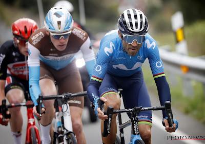 """Valverde grijpt op zijn 40ste naast ritzege in Vuelta en slaat zich voor het hoofd: """"Ik was een beetje kwaad op mezelf"""""""