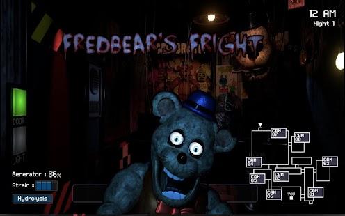 FredBear - Five nights story - Halloween 2017 - náhled