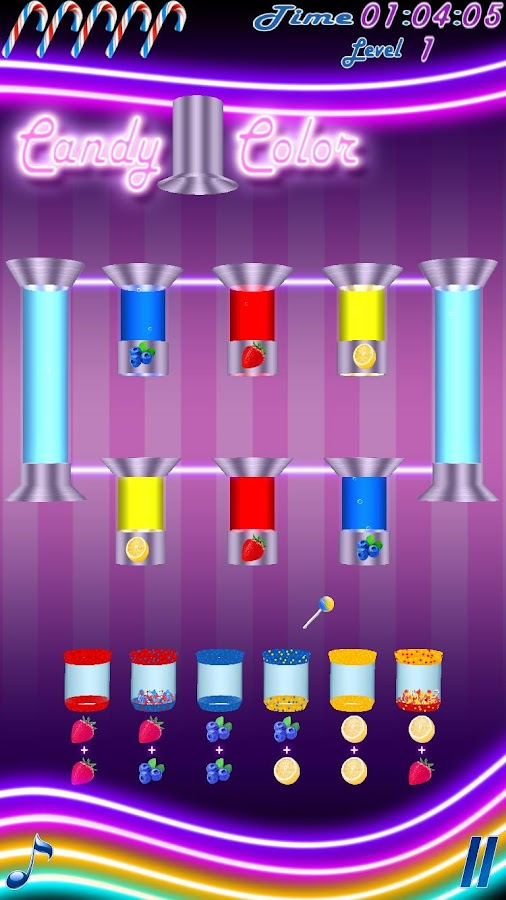 Candy Color Free- screenshot
