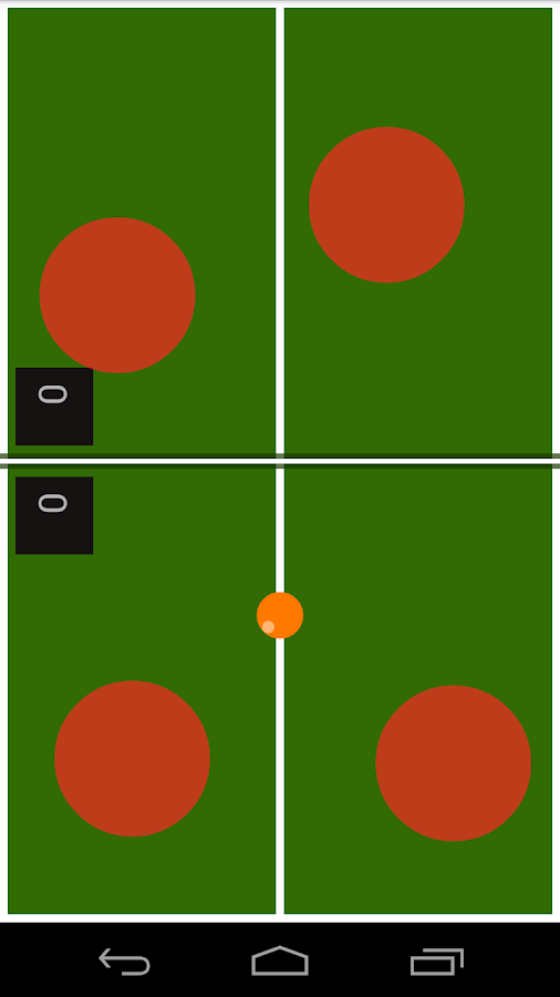 Finger Ping Pong- screenshot