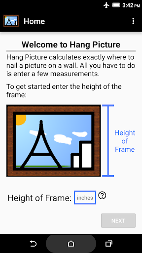 Hang Picture - hang it right
