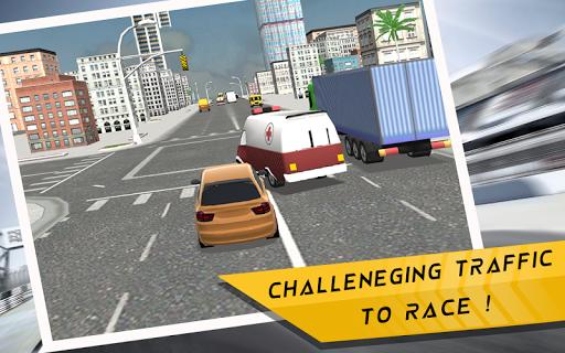 Heavy Traffic Racing 3D apktram screenshots 14