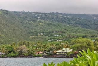 Photo: la tempesta ferma sulle colline