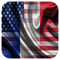 Usa France French English icon