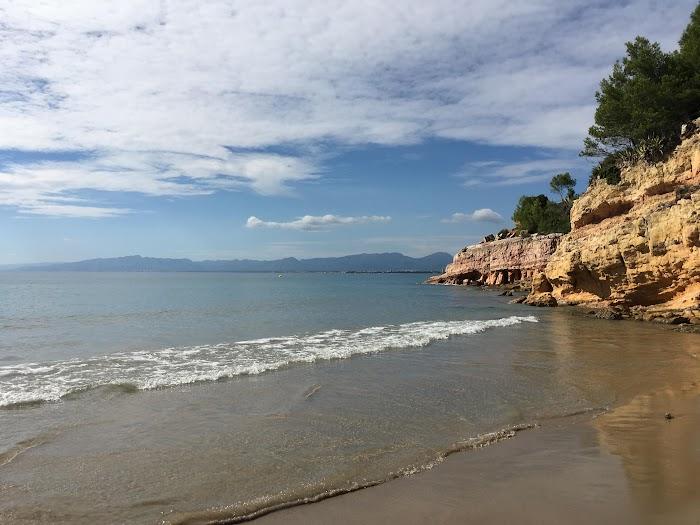 Het strand van Cala Penya Tallada, Salou