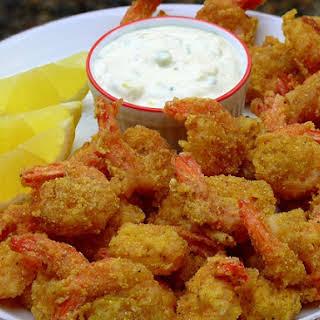 All-You-Can-Eat Crisp Cornmeal Shrimp.
