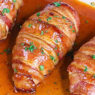 Bacon Brown Sugar Garlic Chicken Recipe