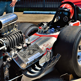 Light it up by Benito Flores Jr - Transportation Automobiles ( dragster, start up, engine, austin, rail, car show, texas, drag racing, lone star round up )