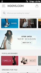 KOOVS - ONLINE SHOPPING APP- screenshot thumbnail