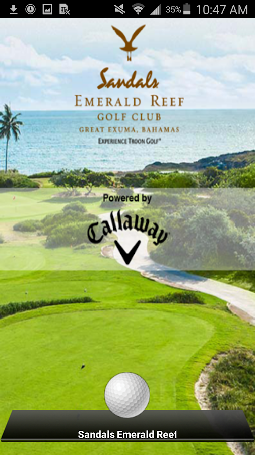 Sandals Emerald Reef Golf Club- screenshot