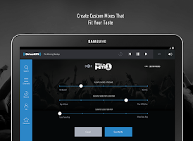 Screenshot of SiriusXM Canada
