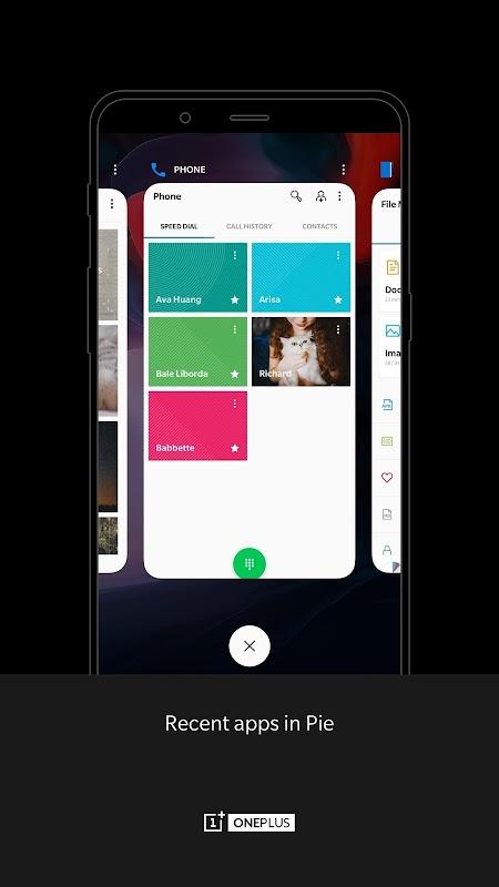 OnePlus Launcher screenshots