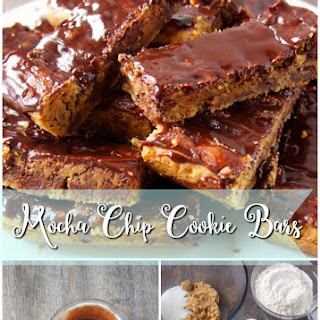 Mocha Chip Cookie Bars