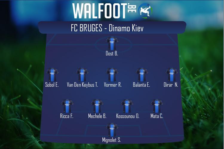 FC Bruges (FC Bruges - Dinamo Kiev)