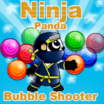 Ninja Panda Bubble Shooter Icon