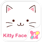 Cute Theme-Kitty Face- 1.0.1 Apk
