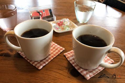 香り高いコーヒー!