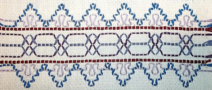 Swedish weaving sample