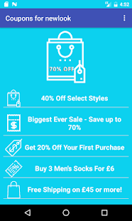 Coupons for New Look - náhled