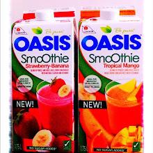 Photo: New Oasis Smoothies, no sugar added #gplus - via Instagram, http://instagr.am/p/JvKkKCJfjE/
