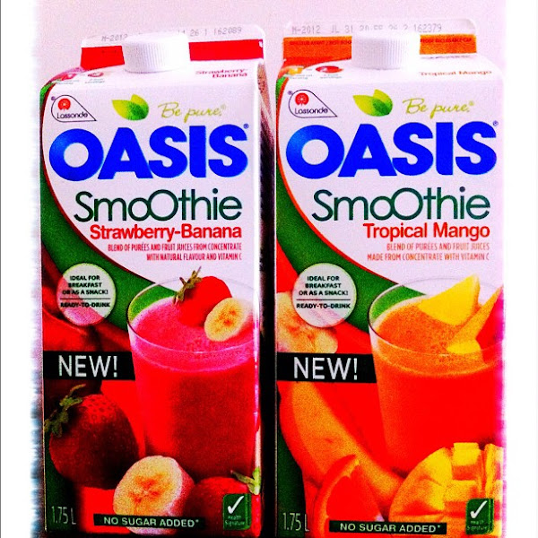 Photo: New Oasis Smoothies, no sugar added #gplus - via Instagram, http://instagr.am/p/JvKkKCJfjE/