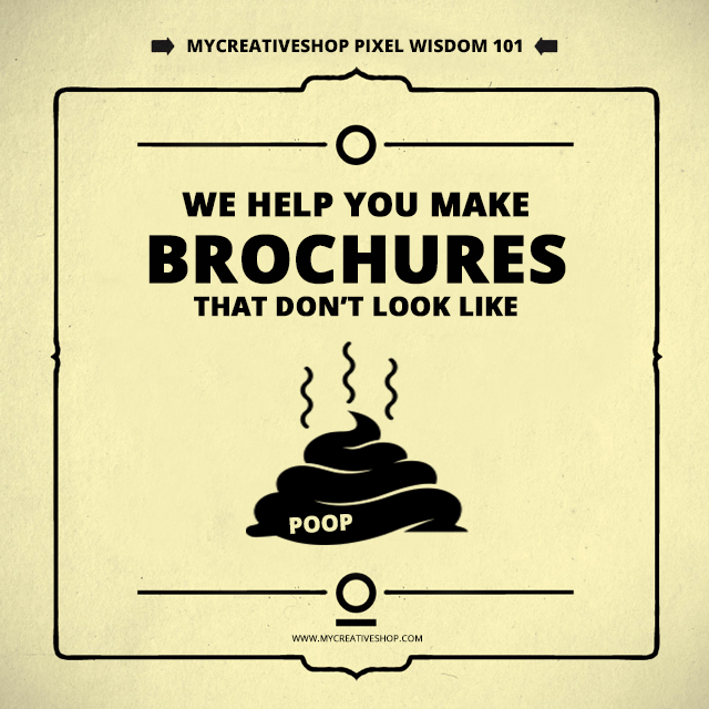 here are my top 5 reasons to build your next brochure with mycreativeshop