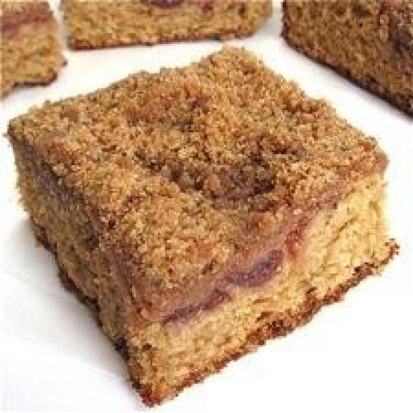 Whole Wheat Cranberry Sour Cream Coffeecake Recipe