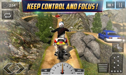 Crazy Offroad Hill Biker 3D screenshot 03