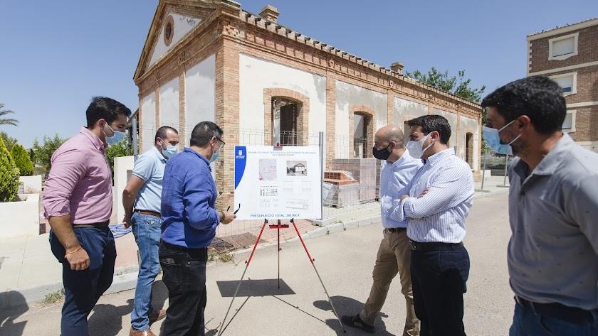 Diputación y Huércal-Overa convertirán la antigua Estación en epicentro del ocio y deporte al aire libre.